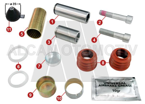 3074 - Caliper Repair Kit