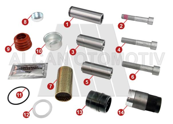 3006 - Caliper Repair Kit