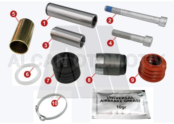3007 - Caliper Repair Kit
