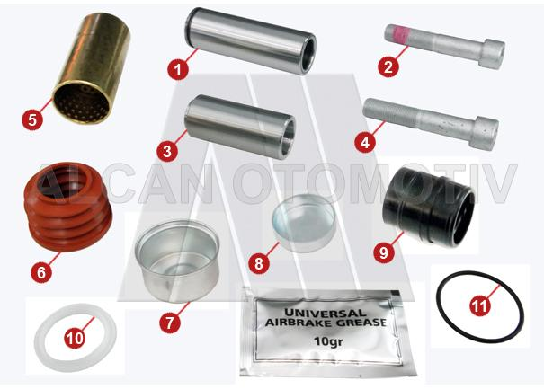 3010 - Caliper Repair Kit