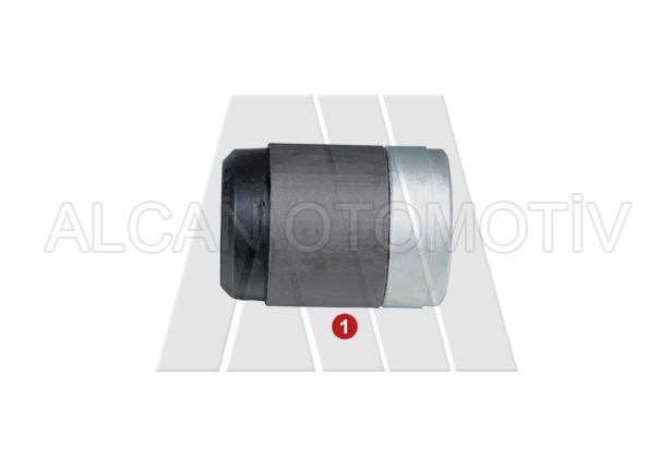 3020 - Caliper Metal-Rubber Bush Short (Ø39mm)