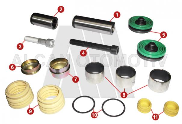 4022 - Caliper Repair Kit