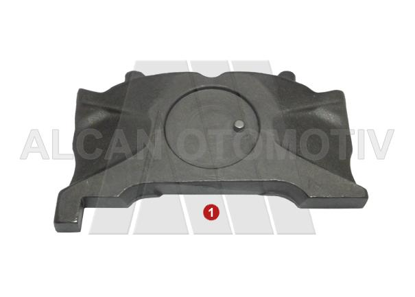 4025 - Caliper Push Plate With Pin ( Left )