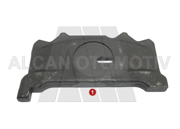 4027 - Caliper Push Plate Slotted ( Left )