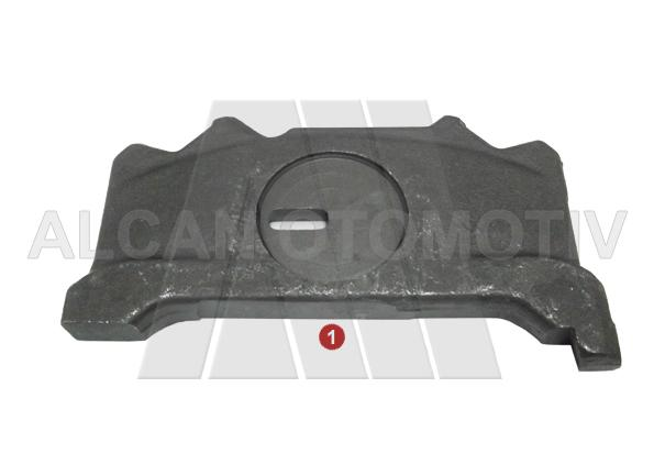 4028 - Caliper Push Plate Slotted ( Right )