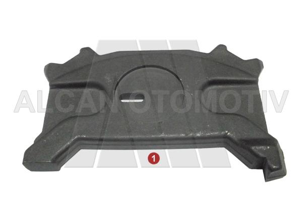 4030 - Caliper Push Plate Slotted ( Right )