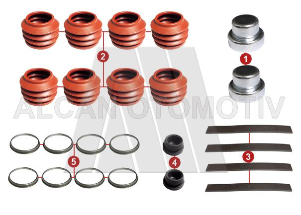 5007 - Caliper Repair Kit