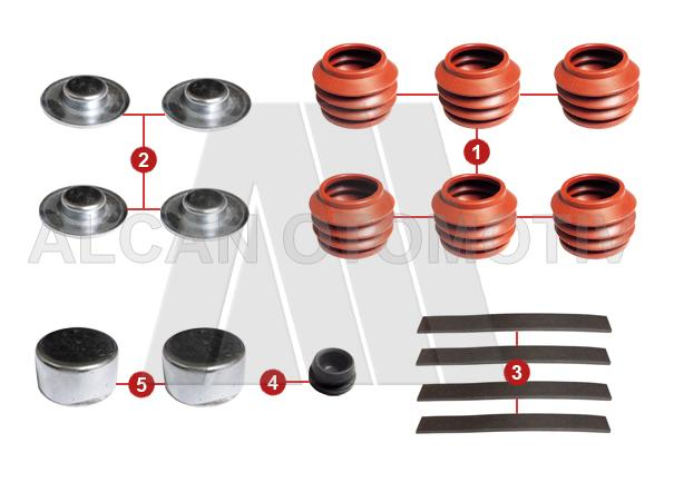 5020 - Caliper Boot and Cap Set