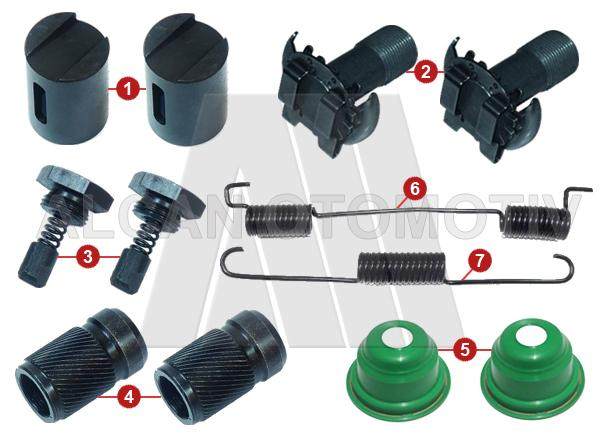 6017 - Brake Adjusting Repair Kit