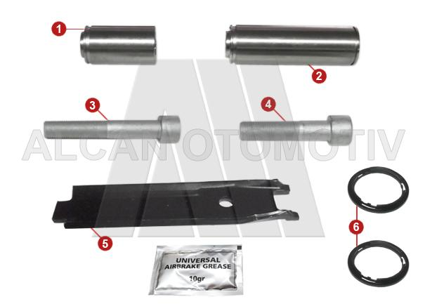 7009 - Caliper Guides Repair Kit