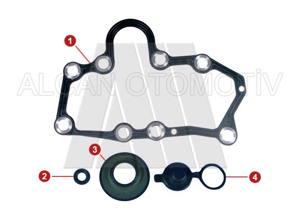 2013 - Caliper Cover Plate Gasket Kit