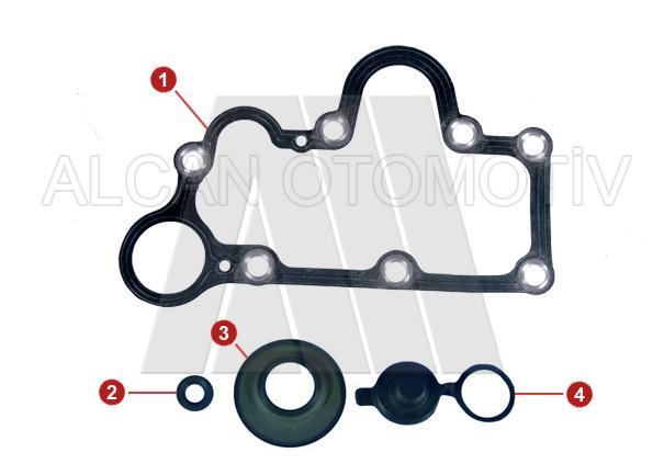 2014 - Caliper Cover Plate Gasket Kit