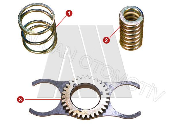 2016 - Intermediate Gear & Spring Set