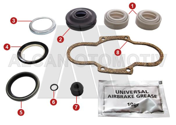 2035 - Brake Caliper Boot & Seal Set